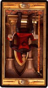 Король жезлов перевернутая