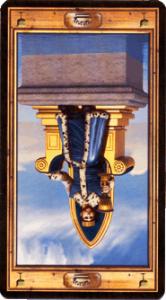 Король кубков перевернутая