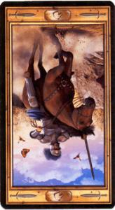 Рыцарь мечей перевернутая