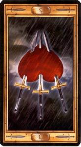 Тройка мечей  перевернутая