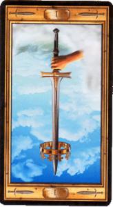 Туз мечей перевернутая