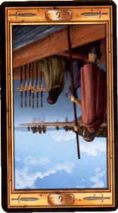 Шестерка мечей перевернутая